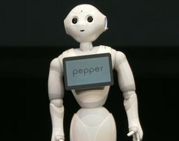 Робот Pepper понимает, что чувствует собеседник