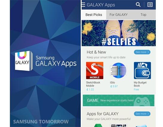 Открылся магазин приложений Samsung Galaxy Apps