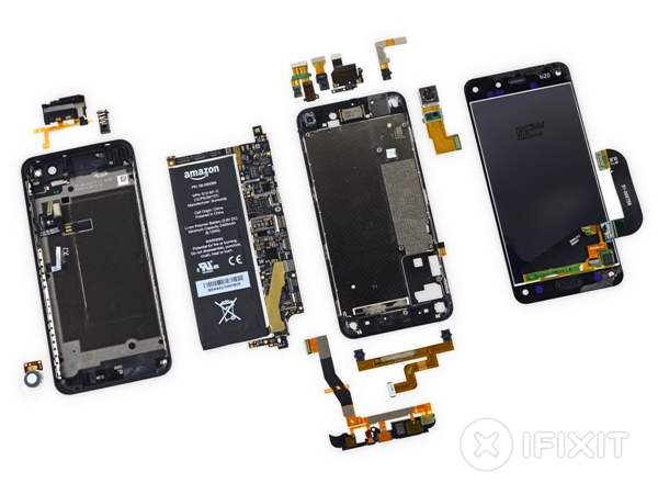 Специалисты iFixit разобрали Amazon Fire Phone