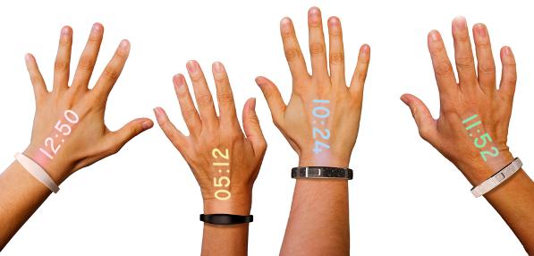 Первые в мире проекционные смарт-часы Ritot