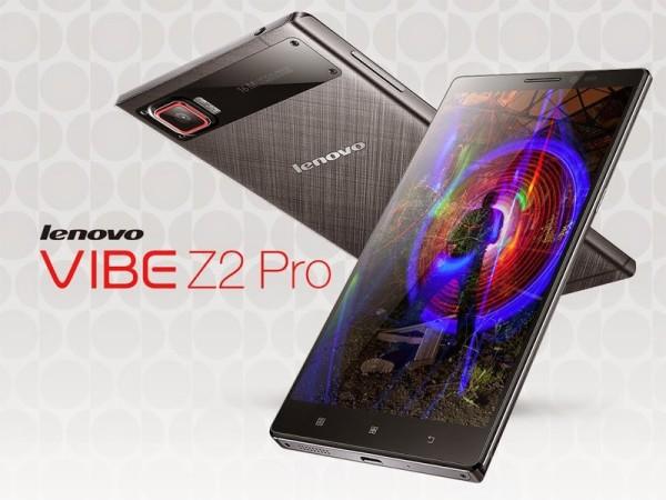 Lenovo Vibe Z2 Pro – новый смартфон с QHD-дисплеем