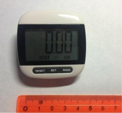 Шагомер Fitstep проследит за вашей физической активностью и сожженными калориями