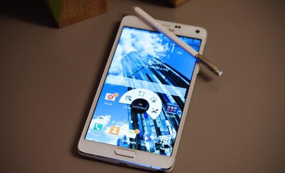 Samsung Galaxy Note 4 представлен официально
