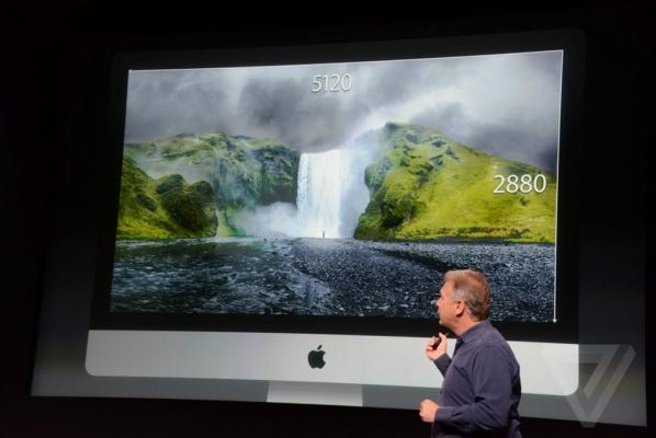 Компьютер iMac с дисплеем Retina представлен официально