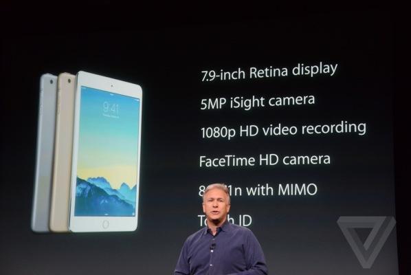 Планшетники Apple iPad Air 2 и iPad mini 3 представлены официально
