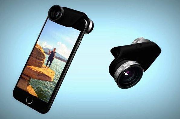 Объективы Olloclip 4-в-1 для смартфонов iPhone 6 и 6+