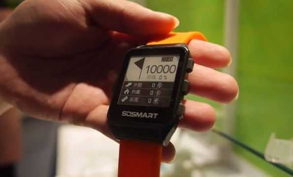Смарт-часы Onyx с Е-ink-дисплеем
