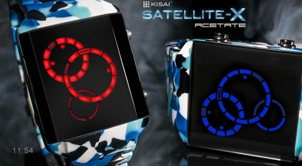 Две новые модели часов для гиков Kisai Satellite X от Tokyoflash