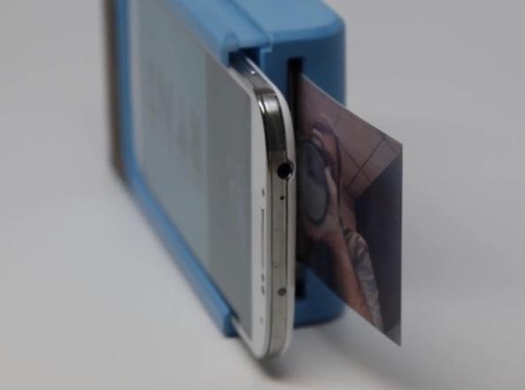 Prynt – защитный чехол с принтером для смартфона