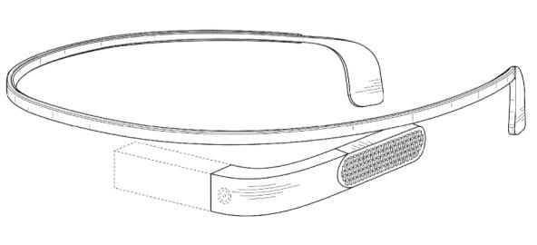 Новый патент Google Glass демонстрирует еще более футуристический дизайн
