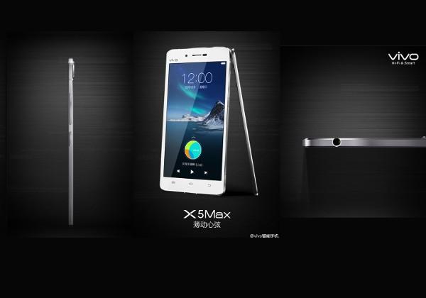 Vivo X5Max – самый тонкий смартфон в мире