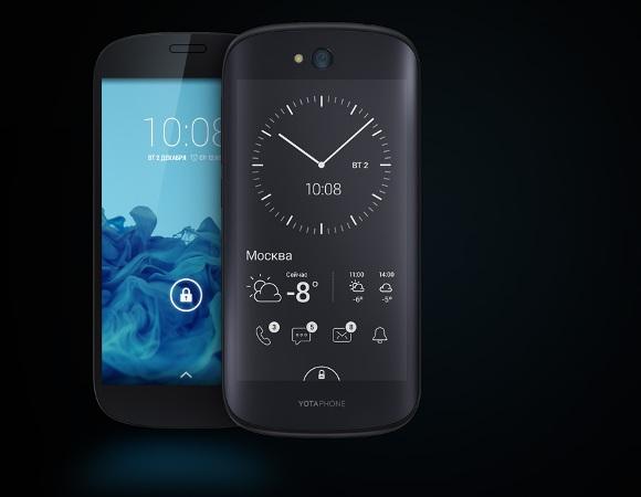 Смартфон YotaPhone 2 поступил в продажу