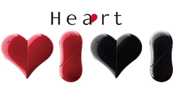 Мобильный телефон Heart в виде сердца