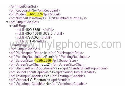 LG G4 станет первым смартфоном с 3К-дисплеем?