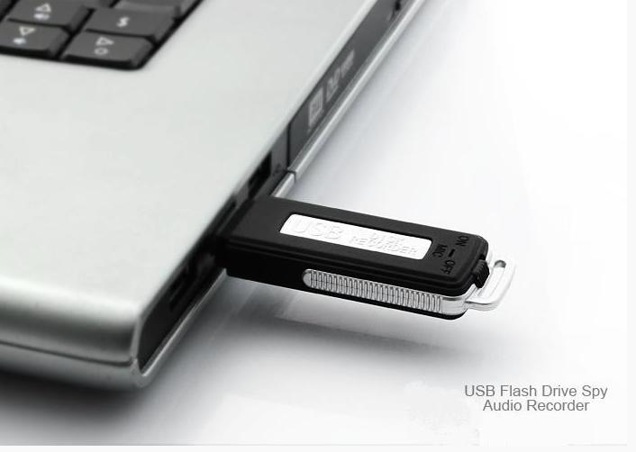 Диктофон в виде флешки - компактно и при необходимости скрытно