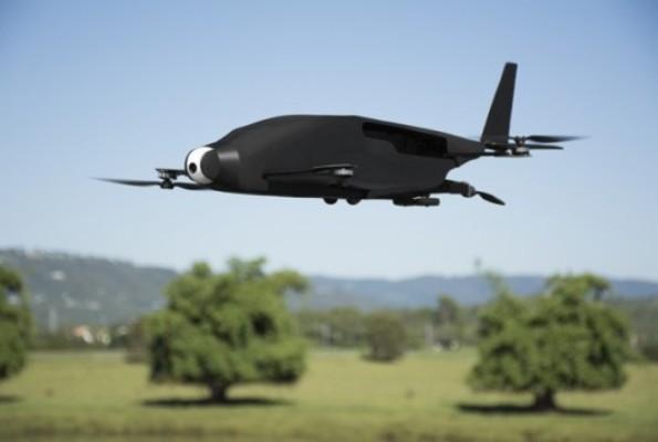 SkyProwler – самолет и квадрокоптер в одном устройстве