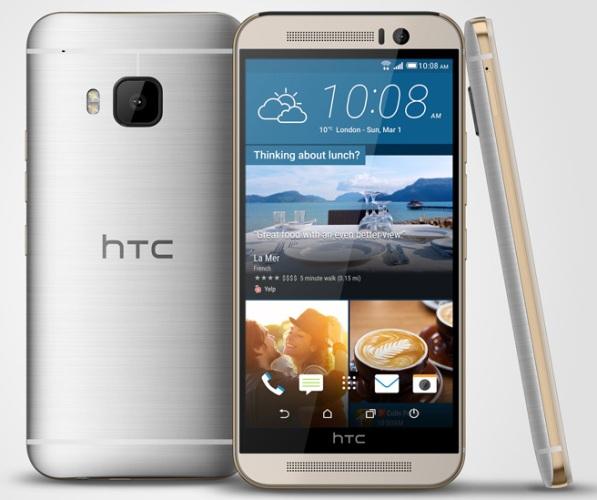 HTC One M9 представлен официально
