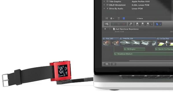 NomadKey – портативное устройство для зарядки смарт-часов Pebble