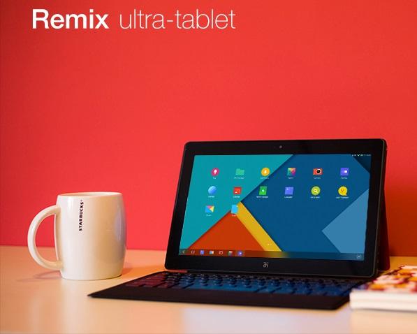 Remix – 11,6-дюймовый Android-планшет, похожий на Microsoft Surface