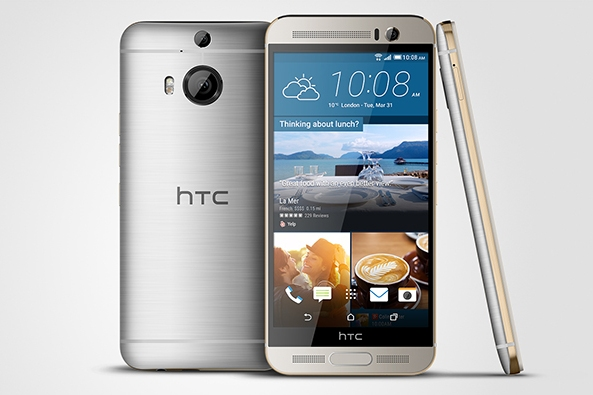 HTC One M9+ представлен официально