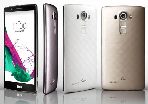 Смартфон LG G4 представлен официально