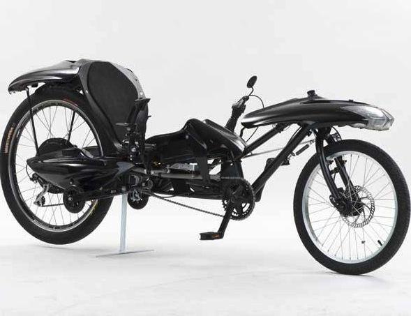 Лежачий велосипед Joystick Bike с джойстиком вместо руля