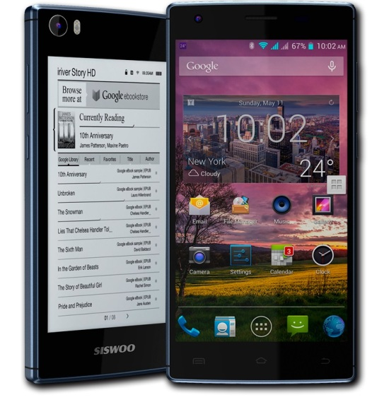 Siswoon R9 Darkmoon – смартфон с двумя дисплеями и 8-ядерным процессором