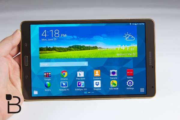 Планшетник Samsung Galaxy Tab S2 выйдет в июне?