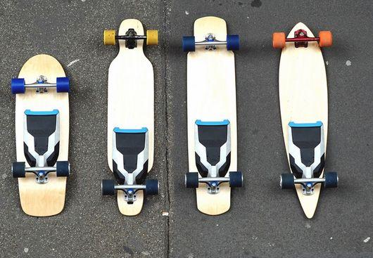 Электродвигатель Mellow Drive сделает из любого классического скейтборда электроскейтборд