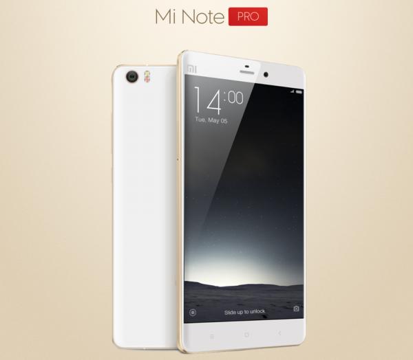 Xiaomi Mi Note Pro с QHD-дисплеем и 4 гигабайтами RAM вышел в продажу