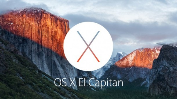 Apple анонсировала OS X 10.11 El Capitan