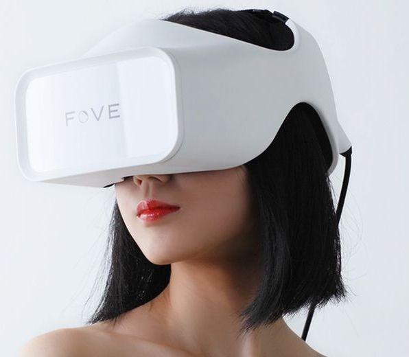 Первые в мире очки виртуальной реальности с отслеживанием направления взгляда