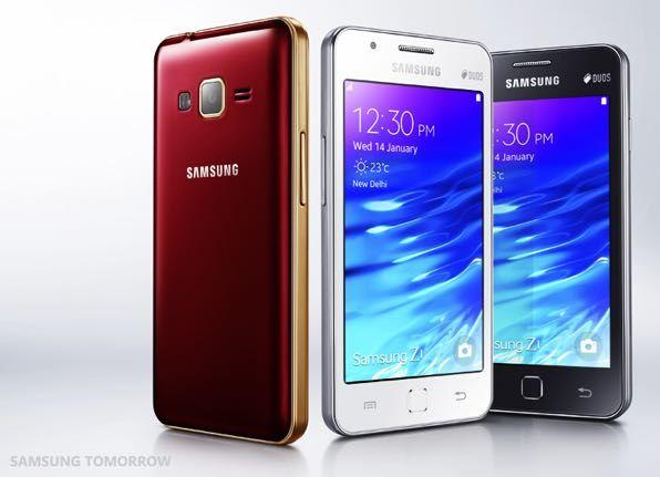 Tizen-смартфон Samsung Z3 с 5-дюймовым дисплеем