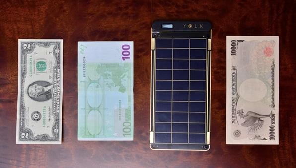 Зарядное устройство с солнечными батареями Solar Paper толщиной с лист бумаги