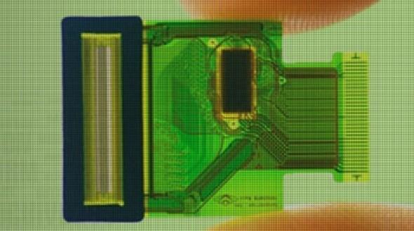 Биометрические датчики могут стать частью дисплея