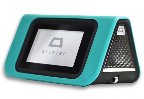 Водонепроницаемая портативная колонка Drifter с сенсорным экраном
