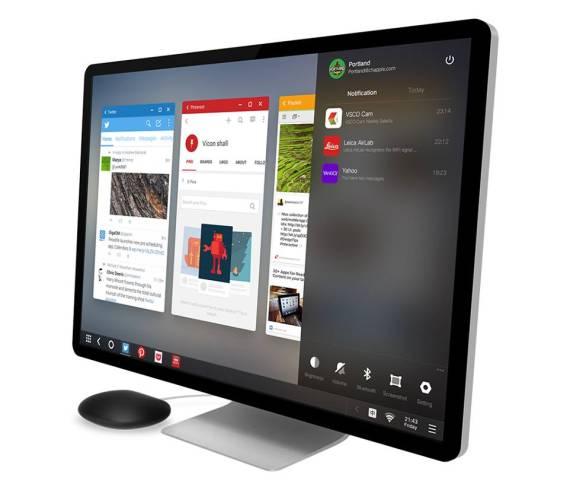 Настольный мини-компьютер Jide Remix Mini с ОС Android