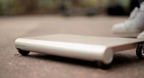 WalkCar – персональное транспортное средство, похожее на скейтборд