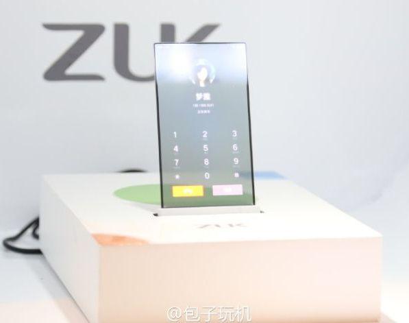Концепт прозрачного смартфона будущего от Lenovo
