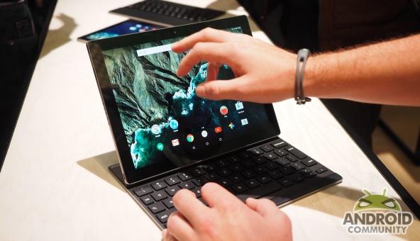 Google Pixel C – планшет с дисплеем высокого разрешения