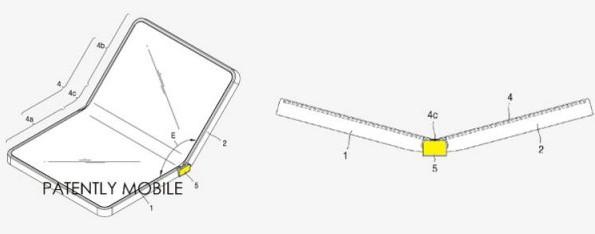 Samsung хочет запатентовать смартфон-раскладушку