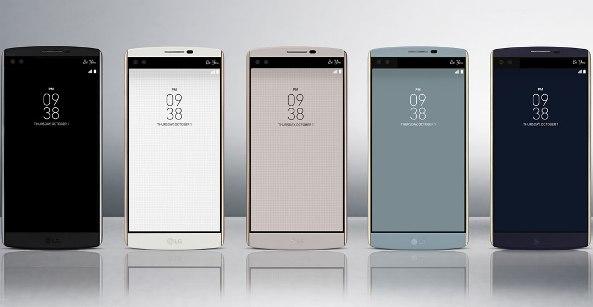 LG V10 – флагман с двумя дисплеями и двумя камерами для селфи