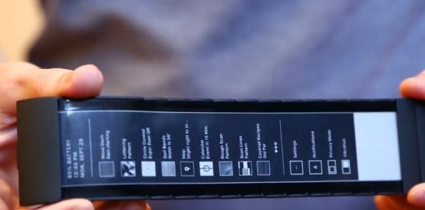 Wove – носимый компьютер с гибким сенсорным E-Ink-дисплеем