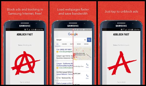 Google убирает из Play Store блокировщик рекламы от Samsung