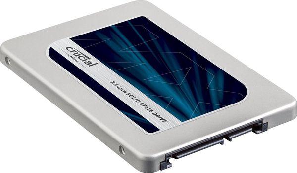 Твердотельный накопитель Crucial MX300 на 750 гигабайт