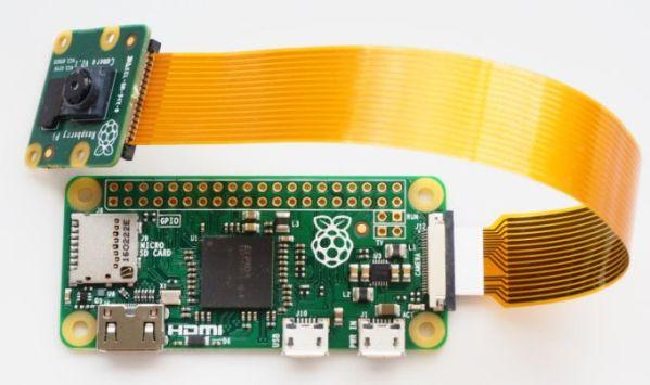 Raspberry Pi Zero – компьютер за 5 долларов с контроллером для камеры