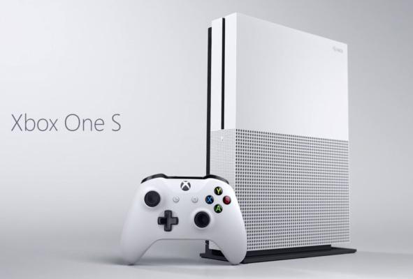 Microsoft представила консоль Xbox One S