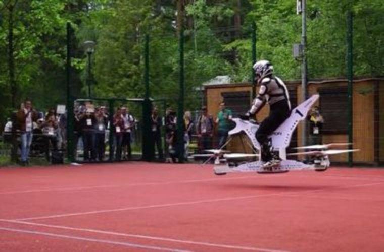 В России могут появиться летающие мотоциклы