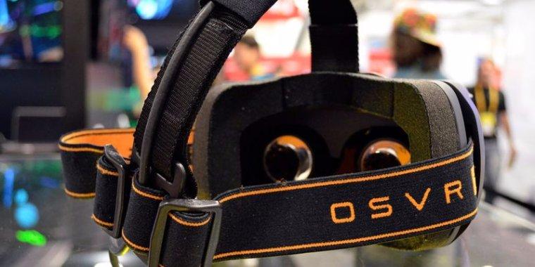 Razer показала шлем виртуальной реальности собственного производства