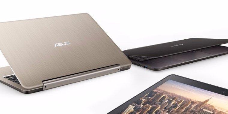 Asus показала новый ноутбук с поворотным дисплеем